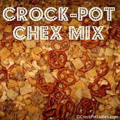 Crock-Pot Chex Mix