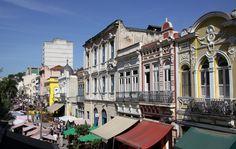 Rio de Janeiro, Brasil - Rua do Lavradio (centro histórico)