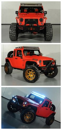 Cool Jeep Wrangler built specially for the world renowned SEMA show. You have to check this out...  #WildWednesday