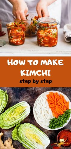 Learn how to make a traditional Korean kimchi. food traditional How to Make Kimchi [Easy Kimchi Recipe] Fermentation Recipes, Canning Recipes, Homebrew Recipes, Beer Recipes, Fermented Cabbage, Fermented Foods, Asian Recipes, Healthy Recipes, Ethnic Recipes
