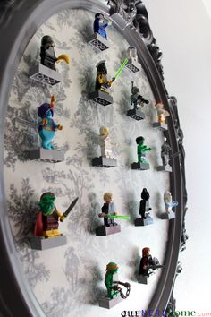 Our DIY LEGO Minifigure Display Frame - Our Nerd Home