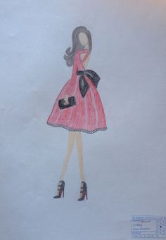 Modelo. Lápices de colores