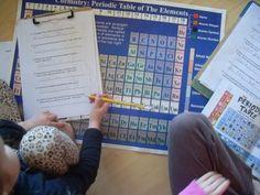 5 Orange Potatoes: Periodic Table of Elements
