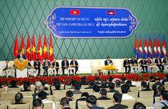Việt Nam, Campuchia thúc đẩy hợp tác đầu tư - Tạp Chí Thép Xây Dựng | Kênh thông tin chuyên ngành thép