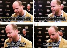Why yes, Joss. Yes, we are.
