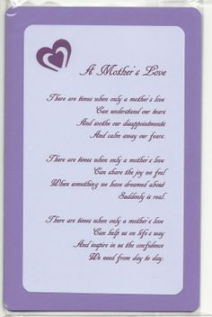 Mother's Day Acrostic Poem Card Make your own Mother's Day ...