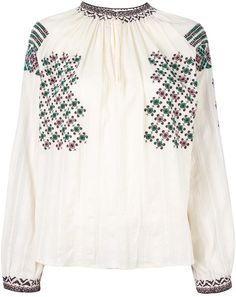Vanessa Bruno embroidered blouse