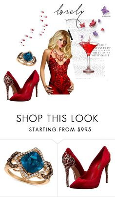 """""""beautiful"""" by nihadniks ❤ liked on Polyvore featuring LE VIAN and Casadei"""