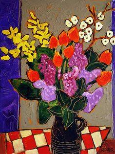 Bouquet au lilas / Claude A. Simard