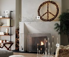 #fireplace #modern #dreamliving|LA #realestate