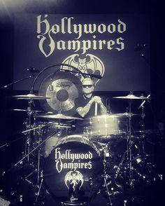 Matt Sorum - I'm ready and so are the @hollywoodvampires tonight at #foxwoods #hollywoodvampires