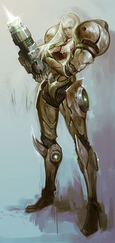 METROID Samus Aran 130515 by masateru on DeviantArt