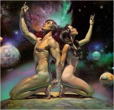 I stworzył Bóg człowieka na obraz swój. Na obraz Boga stworzył go. Jako mężczyznę i niewiastę stworzył ich. 1 Mojż.1:27