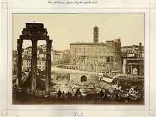 Rome, le ForumCirca 1875