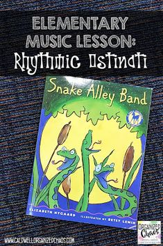 A great lesson for kindergarten and lower elementary on speech patterns, rhythm ostinato, and ensemble skills using a book. Kindergarten Music Lessons, Music Education Lessons, Elementary Music Lessons, Music Lessons For Kids, Music Lesson Plans, Music For Kids, Physical Education, Piano Lessons, Health Education