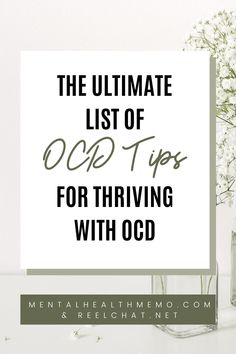 OCD is not just obsessively cleaning or counting things. It's a serious mental illness that can be incredibly debilitating. Here are 16 ways you can improve your OCD #ocd #ocdtips #ocdtricks #ocdtendencies #ocdinformation #ocdsupport #ocdhacks #waystohelpocd #howtoovercomeocd #treatmentforocd #recoveringfromocd #howtodealwithocd