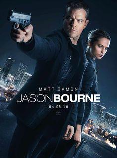 Matt Damon & Alicia Vikander in Jason Bourne. Última entrega 2016. Acción.