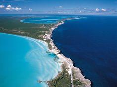 Beautiful Eleuthera in the Caribbean