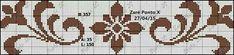 Colori: Rosso e Fucsia Cross Stitch Boarders, Butterfly Cross Stitch, Cross Stitch Designs, Cross Stitching, Cross Stitch Patterns, Crochet Chart, Filet Crochet, Ribbon Embroidery, Cross Stitch Embroidery