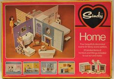The complete guide to Sindy doll's scale houses and other buildings. 1970s Childhood, My Childhood Memories, Childhood Toys, Vintage Barbie, Vintage Dolls, Barbie Horse, Sindy Doll, New Dolls, Retro Toys