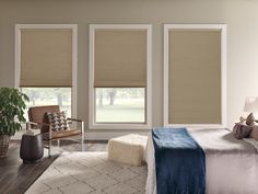 Shop Home Decorators Collection Cordless Blackout Cellular Shade Cellular Shades at TheHomeDepot. Get free samples here. Home Decor Online, Cheap Home Decor, Bedroom Blinds, Bedroom Window Treatments, Scandinavian Window Treatments, Cheap Window Treatments, Master Bedroom, Blackout Shades, Houses