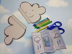 Life Science Water Cycle - Life Cycle Crafts for Kids Water Cycle Craft, Water Cycle For Kids, Water Cycle Project, Water Cycle Activities, Life Cycle Craft, Spring Activities, Preschool Science, Science Classroom, Science For Kids