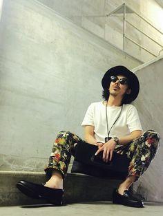 MasaakiOoueさんの「ロングブリムハット【HARE】(HARE)」を使ったコーディネート
