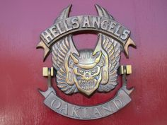 Outside the Hells Angels clubhouse in Oakland. (Photo: sfbaywalk/Flickr)