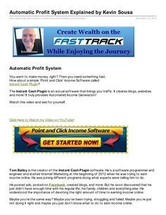 Automatic Profit System - Profit System A System by Financial_Adviser Instant Cash, Document Sharing, Wealth, Make It Simple, How To Make Money, Instant Money