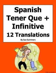 tener expressions on pinterest in spanish teaching spanish and spanish lessons. Black Bedroom Furniture Sets. Home Design Ideas