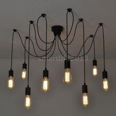 8-Arms-Classic-Retro-Chandelier-DIY-Spider-Lamp-Light-E27-Dining-Hall-P4LC