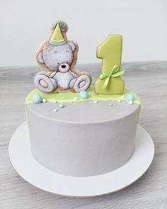 39 ideas for birthday cake small kids Birthday Party Snacks, Baby Birthday Cakes, Birthday Kids, Buttercream Cake, Fondant Cakes, Cakes For Boys, Cake Kids, Wedding Sweets, New Cake