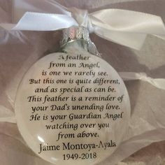 Sympathy Gift Loss of Mother Memorial Ornament In Memory of Mom in Heaven Personalized Bereavement Gift Remembrance Keepsake Ornament Bauble In Memory Christmas Ornaments, Memorial Ornaments, Memorial Gifts, Glass Ornaments, Memorial Ideas, Glitter Ornaments, Christmas Time, Christmas Ideas, Bereavement Gift