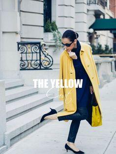 The Yellow Coat | BITTERSWEET COLOURS | Bloglovin'