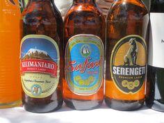 Karen Kuest, African beer in the Serengeti Kilimanjaro, Brewery, Beer Bottle, Safari, College, African, University, Beer Bottles, Colleges