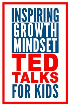 Guaranteed to inspire kids of all ages, these 10 TEDTalks make the perfect jumping off point for opening discussion about growth mindset at home or school. Growth Mindset Videos: 10 TEDTalks to Share With Your Students Growth Mindset Videos, Growth Mindset Book, Growth Mindset For Kids, Growth Mindset Activities, Social Emotional Learning, Social Skills, Coping Skills, Life Skills, Social Work