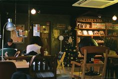 POLY CAFE and tea, Hongdae, Seoul