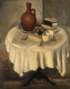 Still Life - Yiannis Moralis Painter Artist, Artist Art, Painting Gallery, Art Gallery, Greece Painting, Art Antique, Greek Culture, Ecole Art, Great Paintings
