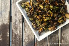 Roasted Maple Balsamic Brussels Sprouts