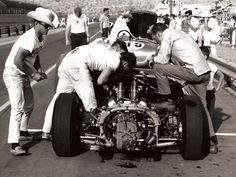 Shelby King Cobra at Phoenix International Raceway 1964
