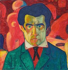 Kazimir Malevich - Self Portrait - 1908-1910
