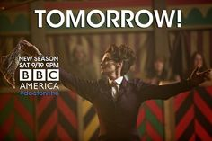 #DoctorWho returns tomorrow!!! Tune in at 9/8c on @DoctorWho_BBCA for an all new season of timey wimey greatness.