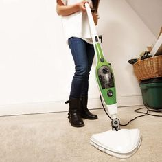 Just 360ml of water (and no harmful detergents) and 25 seconds - that's all it takes to generate 20 minutes of continuous steam in the new versatile 10-in-1 Steam Mop. Then it's time to make short work of steam cleaning and sanitising floors, carpets, windows, hob, sinks and more.