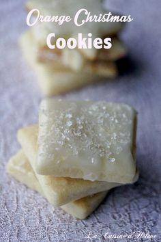 Orange Christmas Cookies