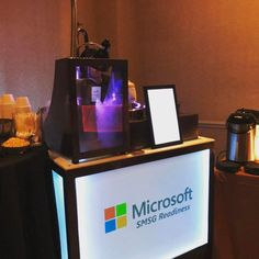 Trade show and exhibit booth catering nationwide. Featuring espresso-latte- cappuccino stations. Nitrogen ice cream carts and more