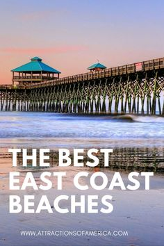 Looking for the best East Coast beaches? Check out our list of beach destinations on the East Coast of the USA. Enjoy exploring any and all of these beautiful East Coast Beaches. Best East Coast Beaches, Bethany Beach, Rehoboth Beach, Tybee Island, Most Beautiful Beaches, Destin Beach, Ocean City, Amazing Destinations, Travel Usa
