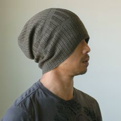 6f2891927c4 Hand Knit Mens Hat - Reflect Bravo