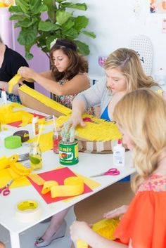 Taco Piñata Workshop Recap ( A Giveaway! Mexican Pinata, Mexican Horchata, Push Pop Confetti, Pineapple Mint, Crazy Wedding, Fruit Infused Water, The Beauty Department, Peach Orange, Pretty Photos