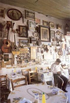 Photos of 39 Traditional Coffee houses and a barber shop on Lesvos island in Greece by Jelly Hadjidimitriou Greece Vacation, Greece Travel, Greece Trip, Crete Map, Greek Cafe, Greek Decor, Greek House, Greek Culture, Greece Islands