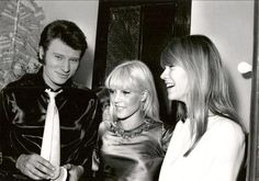 Johnny Hallyday, Sylvie and Françoise Hardy